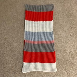 Aerie Chunky Knit Striped Scarf